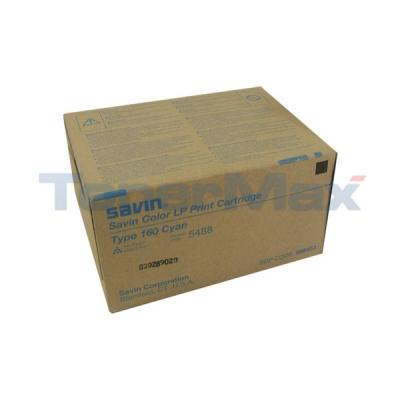 SAVIN TYPE 160 TONER CYAN